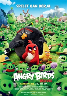 The Angry Birds Movie 2D (Sv. tal)